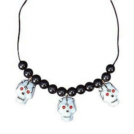 Skull Necklace, Halloween